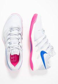 Nike Performance - AIR ZOOM VAPOR X CLAY - Tenisové boty na antuku - pure platinum/racer blue/metallic platinum/pink blast/phantom - 1