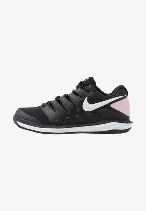 WOMEN'S AIR ZOOM VAPOR X CLAY SHOE - Zapatillas de tenis para tierra batida - black/pink foam/white