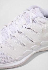 Nike Performance - AIR ZOOM VAPOR X - Multicourt tennis shoes - white/vast grey - 5