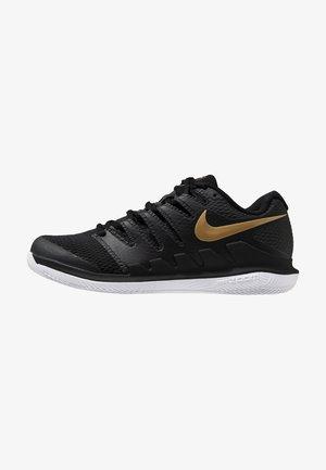 AIR ZOOM VAPOR X - Multicourt tennis shoes - black/metalilc gold/white