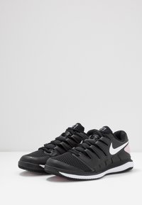 Nike Performance - AIR ZOOM VAPOR X - Zapatillas de tenis para todas las superficies - black/white/pink foam - 3