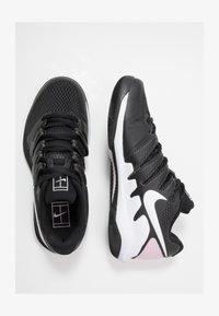 Nike Performance - AIR ZOOM VAPOR X - Zapatillas de tenis para todas las superficies - black/white/pink foam - 1