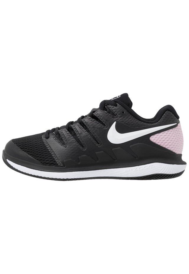Chaussures de tennis toutes surfaces - black/white/pink foam