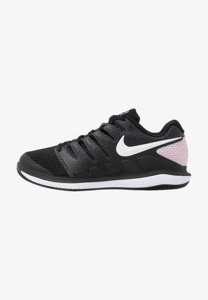 AIR ZOOM VAPOR X - Scarpe da tennis per tutte le superfici - black/white/pink foam