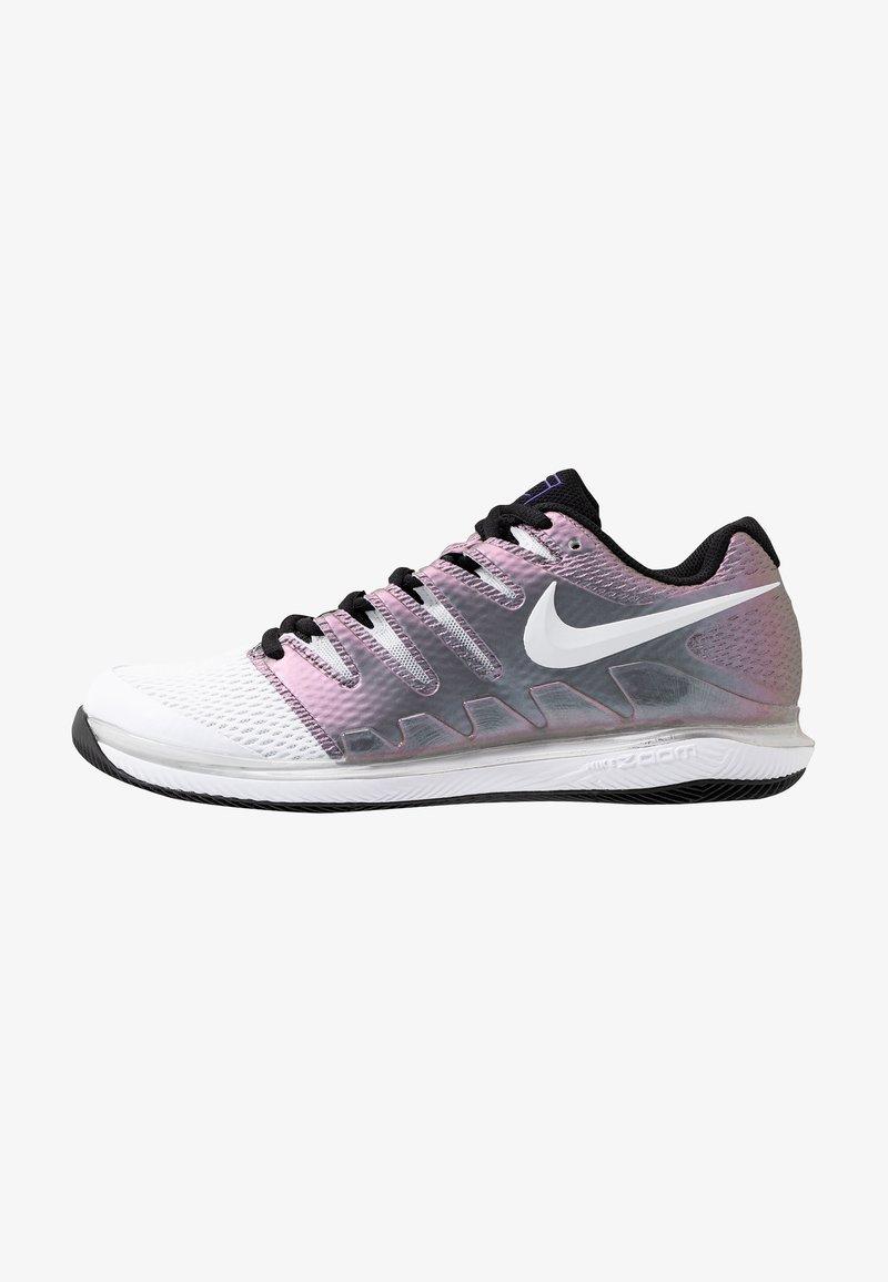 Nike Performance - AIR ZOOM VAPOR X HC - Multicourt tennis shoes - multicolor/white/black/psychic purple