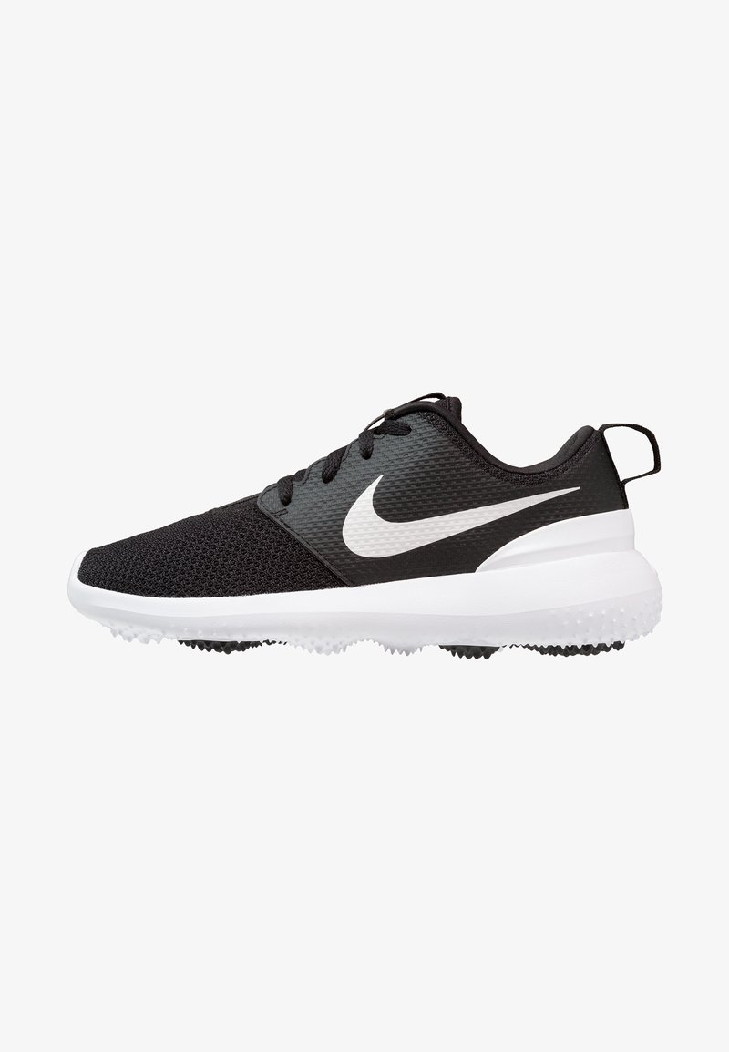 Nike Golf - ROSHE - Golfschuh - black/white