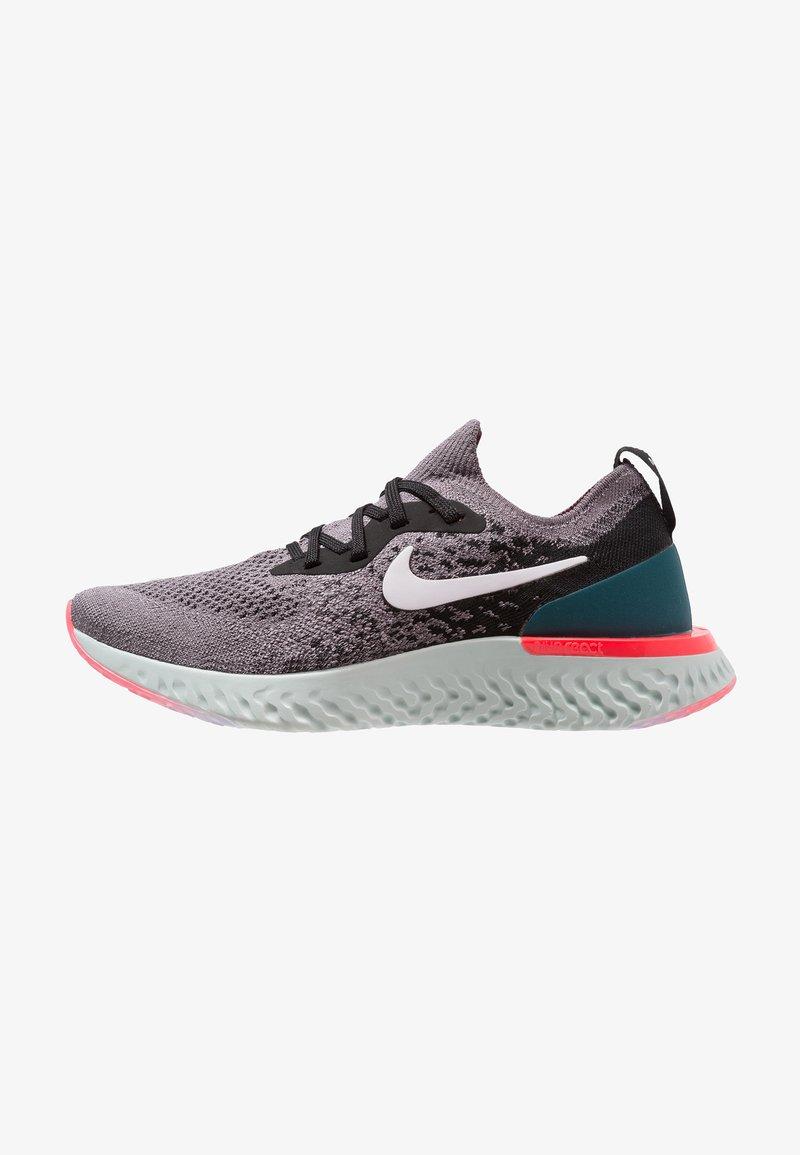 Nike Performance - EPIC REACT FLYKNIT - Sneaker low - gunsmoke/white/black/geode teal/hot punch