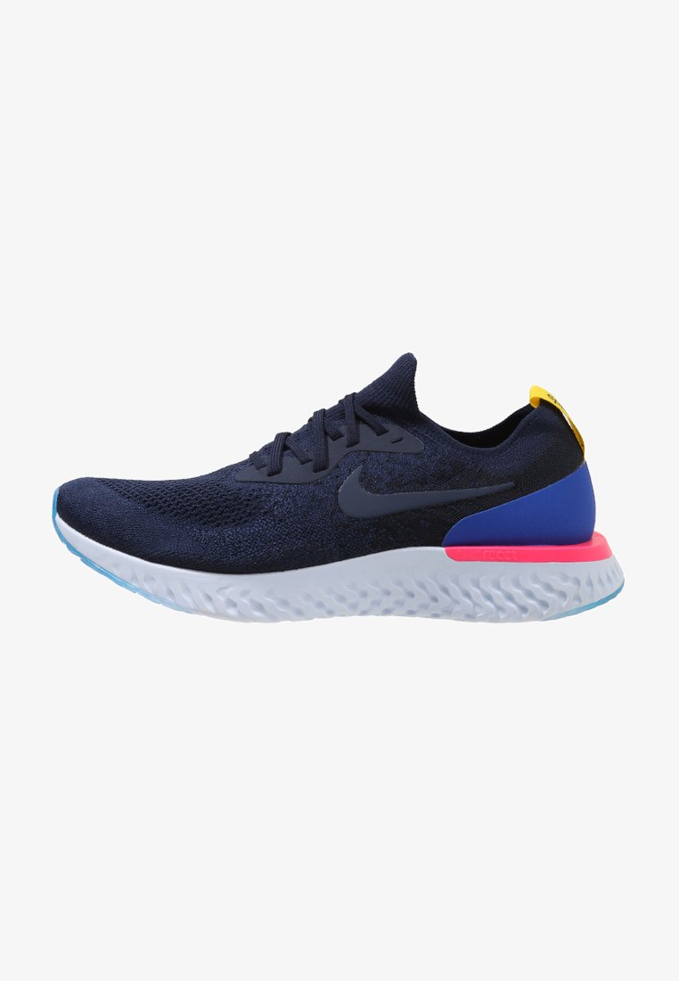 Nike Performance - EPIC REACT FLYKNIT - Sneakers - college navy/race