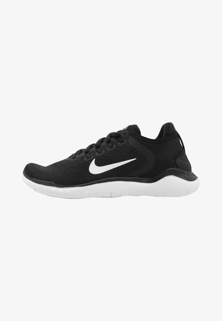 Nike Performance - Laufschuh Natural running - black/white