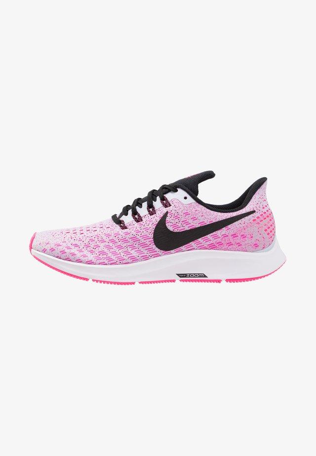 AIR ZOOM PEGASUS 35 - Neutral running shoes - half blue/black/hyper pink/white