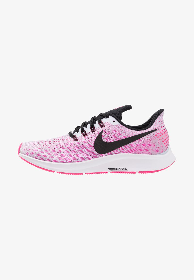 Nike Performance - AIR ZOOM PEGASUS 35 - Neutral running shoes - half blue/black/hyper pink/white