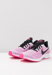 Nike Performance - AIR ZOOM PEGASUS 35 - Juoksukenkä/neutraalit - half blue/black/hyper pink/white - 2