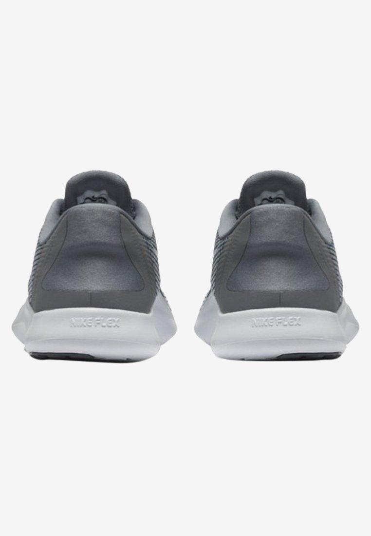 Nike Performance FLEX 2018 RN - Obuwie do biegania neutralne - cool grey/white