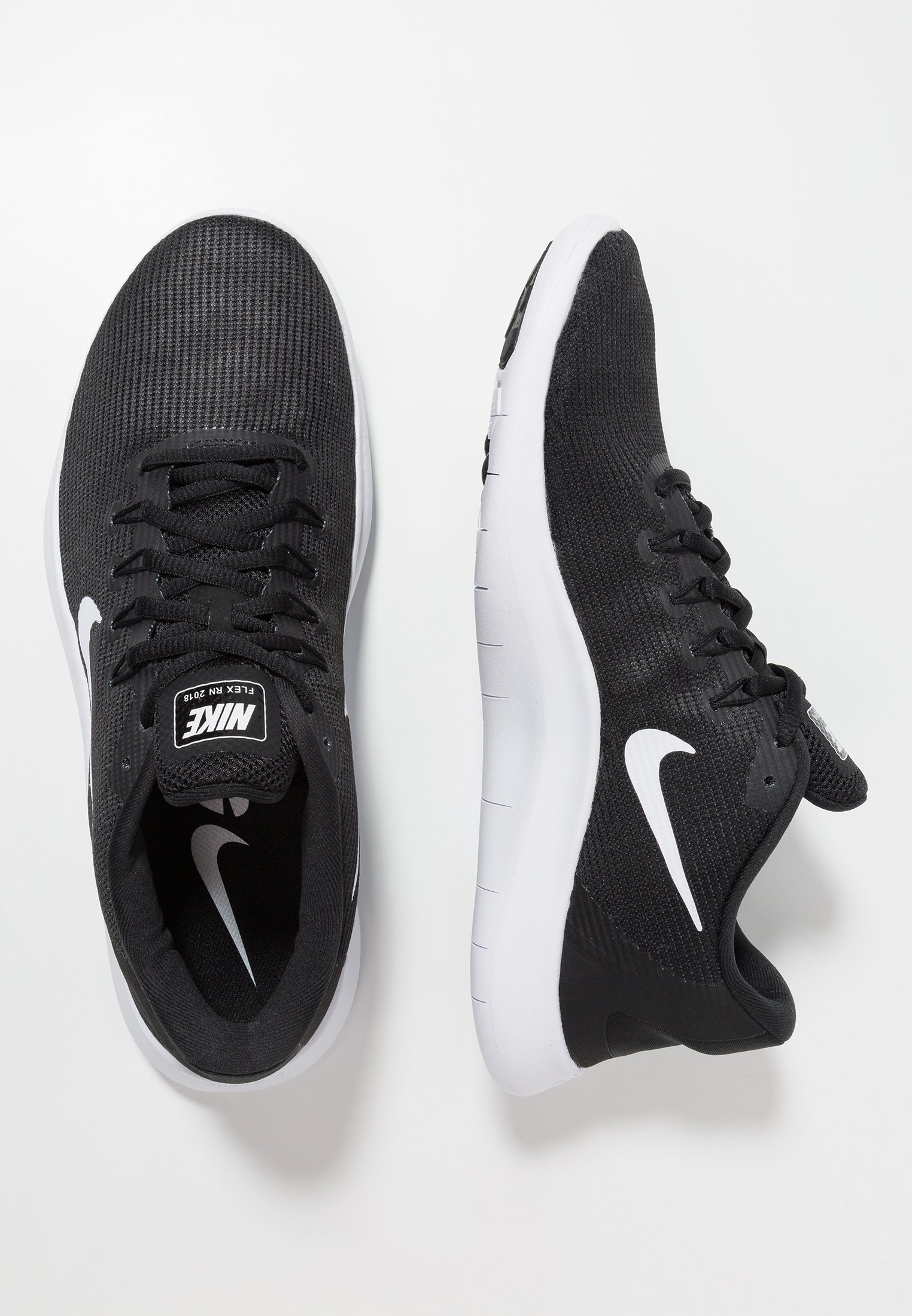 FLEX 2018 RN Chaussures de course neutres blackwhite