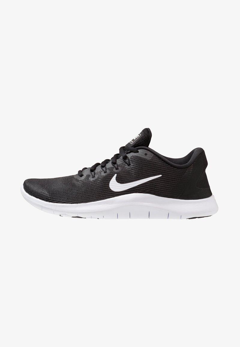 Nike Performance - FLEX 2018 RN - Paljasjalkajuoksukengät - black/white