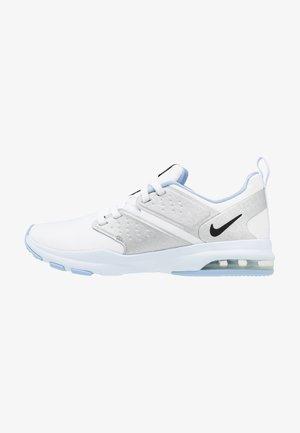 AIR BELLA TR - Sports shoes - white/black/metallic silver/half blue
