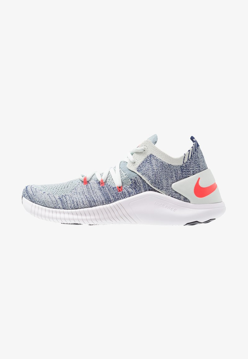 Nike Performance - FREE TR FLYKNIT  - Trainings-/Fitnessschuh - barely grey/ember glow/blue void/white/aviator grey/bright crimson