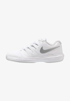 AIR ZOOM PRESTIGE - Zapatillas de tenis para todas las superficies - white/metallic silver/pure platinum/aluminum