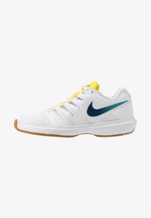 AIR ZOOM PRESTIGE - Allcourt tennissko - white/valerian blue/oracle aqua