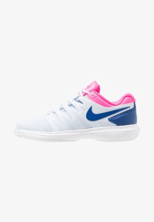 AIR ZOOM PRESTIGE - Tenisové boty na všechny povrchy - half blue/indigo force/pink blast/white