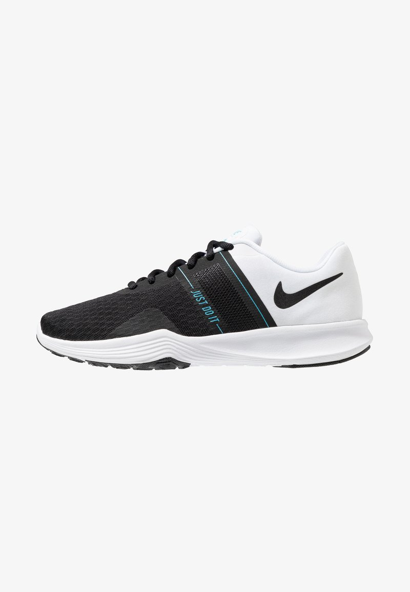 Nike Performance - CITY TRAINER 2 - Trainings-/Fitnessschuh - white/black/blue fury/laser fuchsia