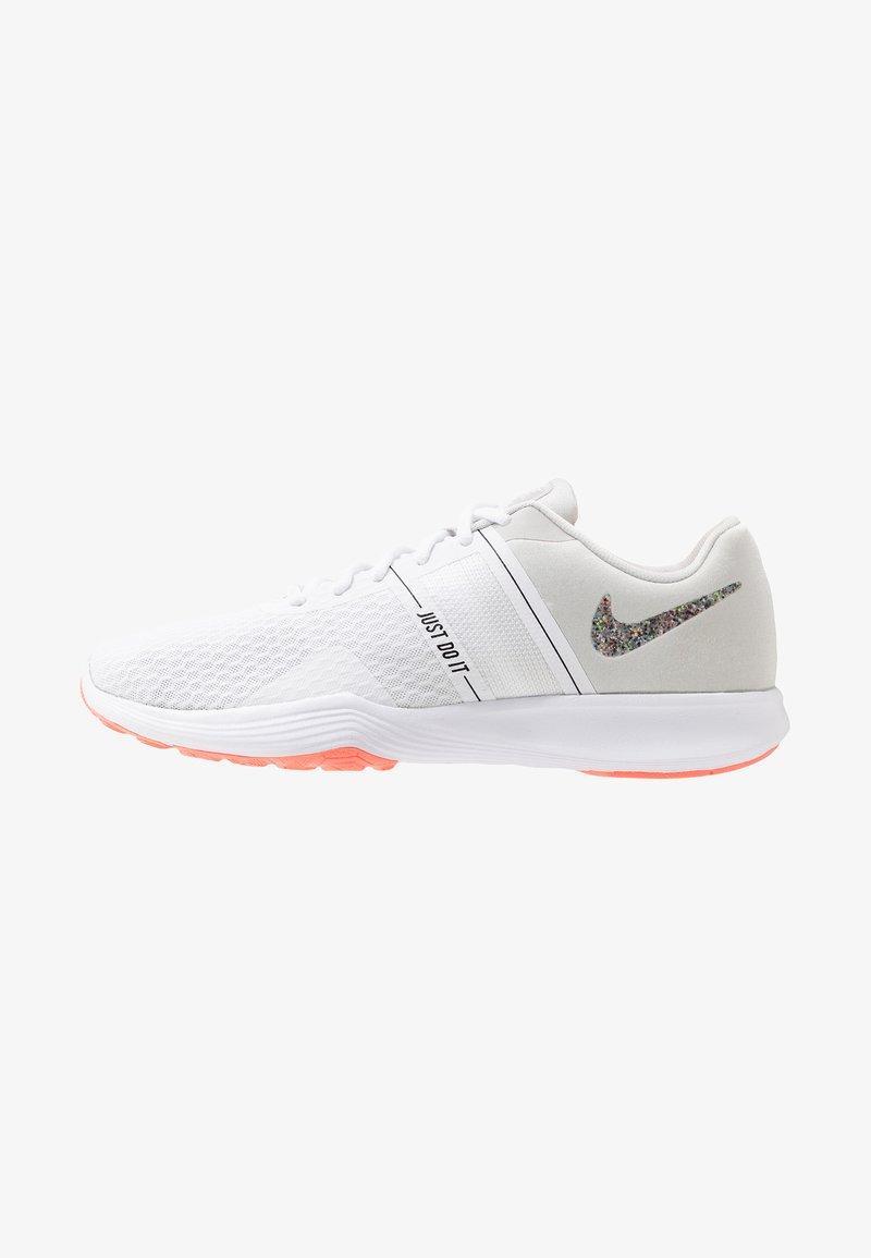 Nike Performance - CITY TRAINER 2 - Sports shoes - white/vast grey/lava glow