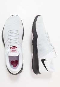 Nike Performance - CITY TRAINER 2 - Sports shoes - white/black/pure platinum/noble red/iced lilac/pistachio frost - 1