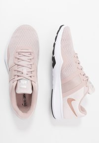 Nike Performance - CITY TRAINER 2 - Sports shoes - stone mauve/metallic red bronze/barely rose/black/metallic silver/white - 1