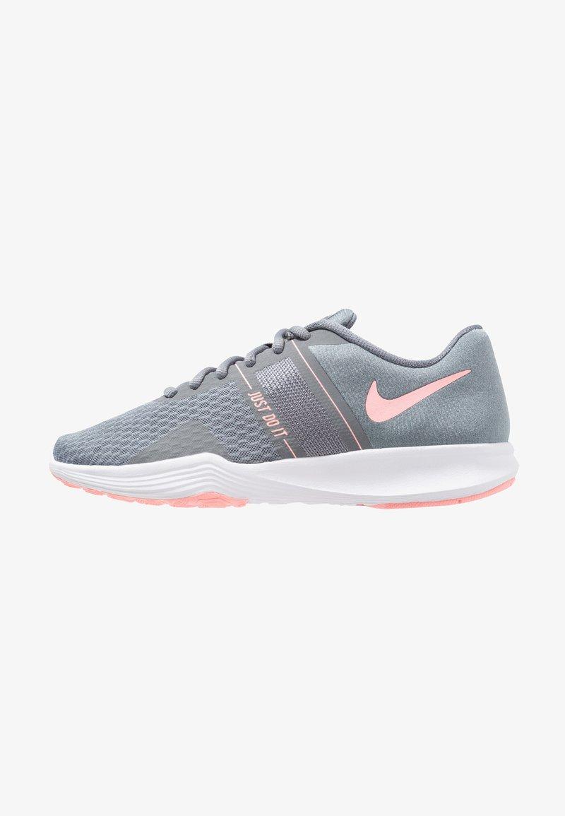 Nike Performance - CITY TRAINER 2 - Kuntoilukengät - cool grey/oracle pink/wolf grey