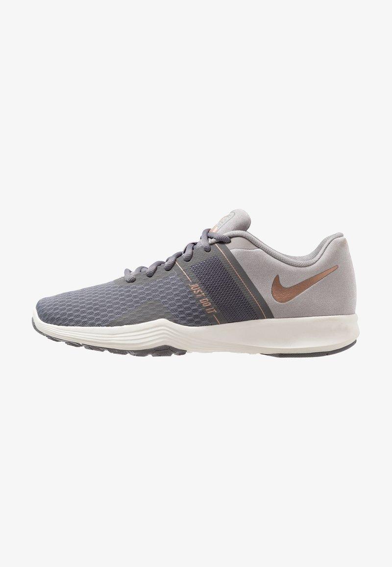 Nike Performance - CITY TRAINER 2 - Sports shoes - gunsmoke/metallic red bronze/atmosphere grey