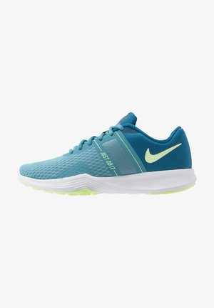 CITY TRAINER 2 - Sports shoes - industrial blue/barely volt/cerulean/white