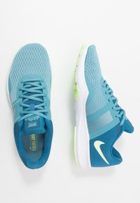 Nike Performance - CITY TRAINER 2 - Sportovní boty - industrial blue/barely volt/cerulean/white - 1