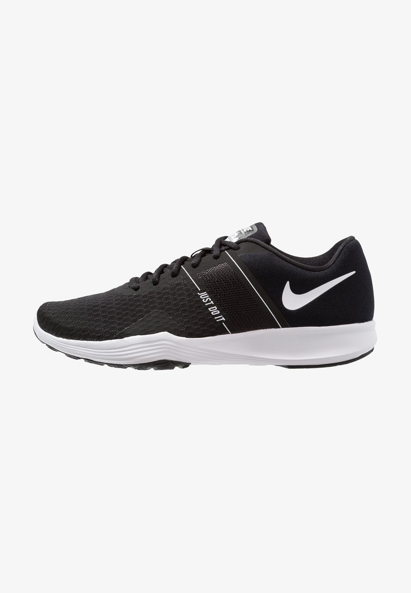 Nike Performance - CITY TRAINER 2 - Sports shoes - black/white