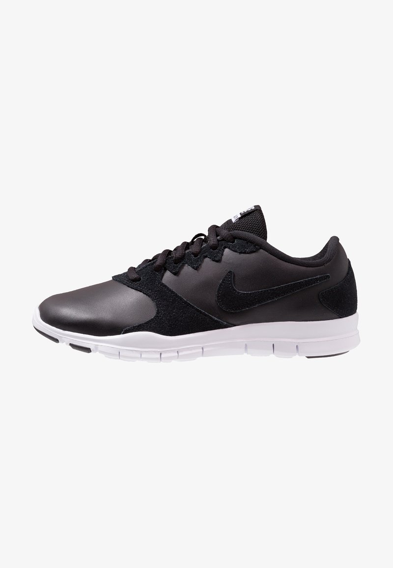 Nike Performance - FLEX ESSENTIAL TR - Gym- & träningskor - black/white/light crimson