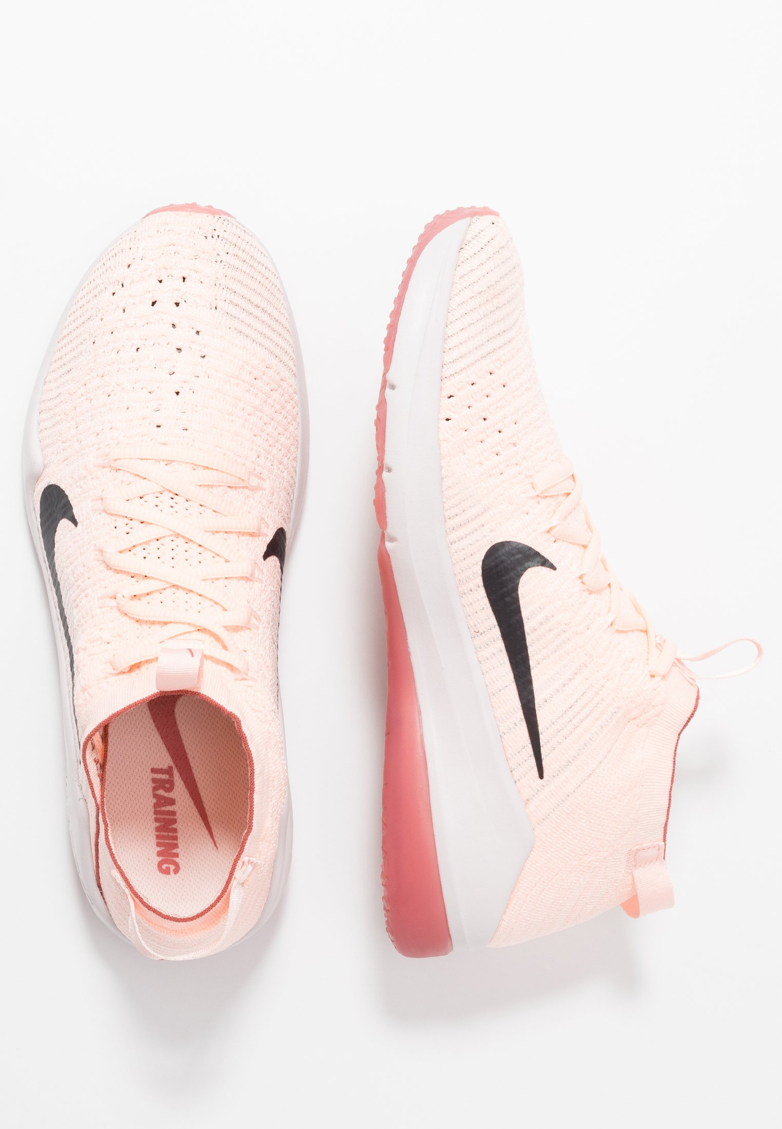 AIR ZOOM FEARLESS FK 2 Chaussures d'entraînement et de fitness echo pinkoil greylight soft pinklight redwood