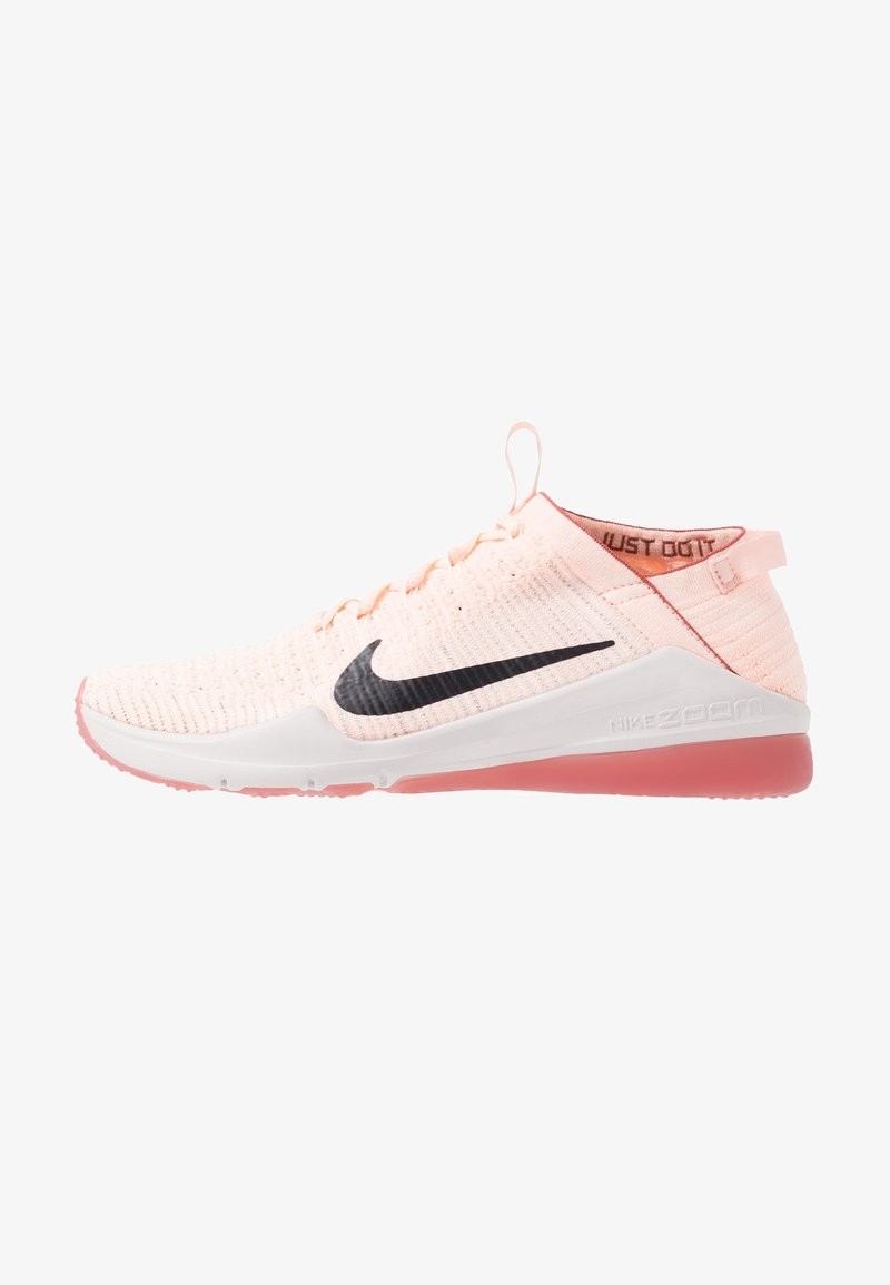 Nike Performance - AIR ZOOM FEARLESS FK 2 - Sports shoes - echo pink/oil grey/light soft pink/light redwood