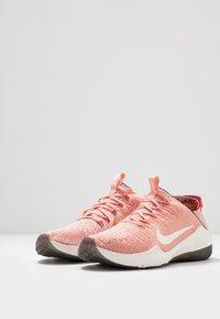 Nike Performance - AIR ZOOM FEARLESS FK 2 - Sports shoes - pink quartz/phantom/black/university red - 2