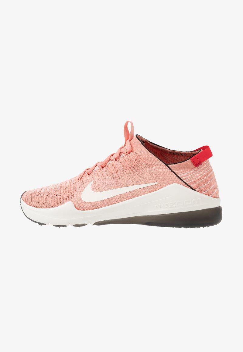 Nike Performance - AIR ZOOM FEARLESS FK 2 - Kuntoilukengät - pink quartz/phantom/black/university red