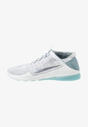 AIR ZOOM FEARLESS FK 2 - Sports shoes - ocean cube/metallic cool grey/aviator grey