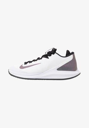 COURT AIR ZOOM HC - Zapatillas de tenis para todas las superficies - white/multicolor/black/psychic purple/white