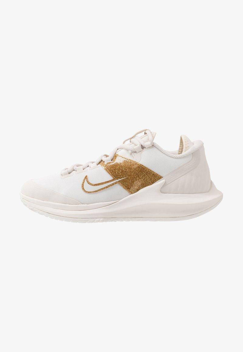 Nike Performance - COURT AIR ZOOM HC - Zapatillas de tenis para todas las superficies - phantom/metallic gold