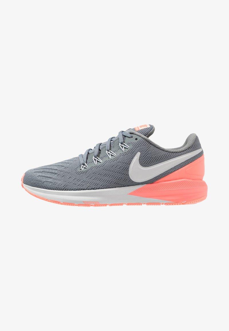 Nike Performance - AIR ZOOM STRUCTURE  - Juoksukenkä/vakaus - cool grey/pure platinum/lava glow/crimson tint