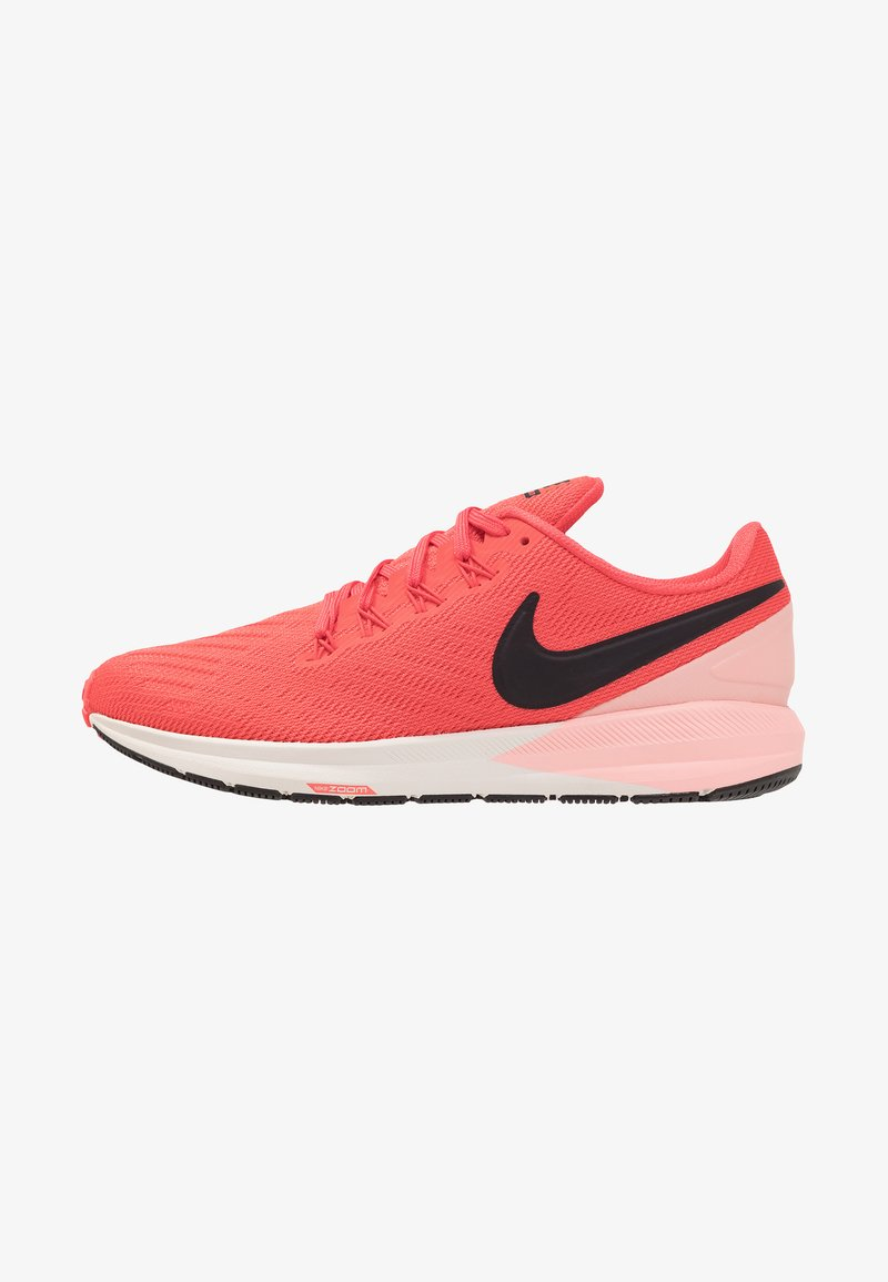 Nike Performance - AIR ZOOM STRUCTURE  - Laufschuh Stabilität - ember glow/oil grey/bleached coral/summit white