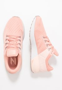 Nike Performance - AIR ZOOM STRUCTURE  - Scarpe da corsa stabili - pink quartz/pumice/washed coral/vast grey