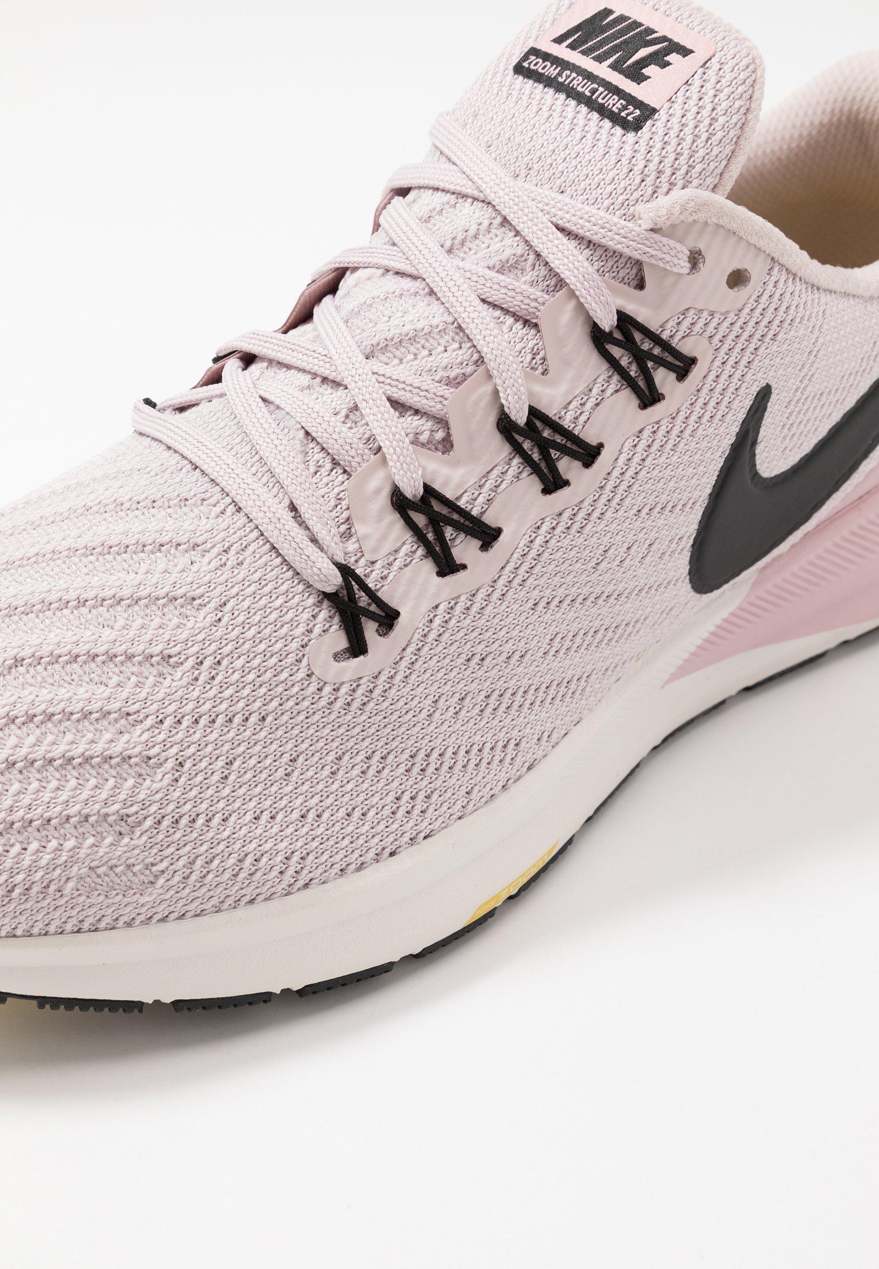 AIR ZOOM STRUCTURE Chaussures de running stables platinum violetblackplum chalkinfinite goldsummit white