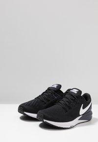 Nike Performance - AIR ZOOM STRUCTURE  - Løbesko stabilitet - black/white/gridiron - 2