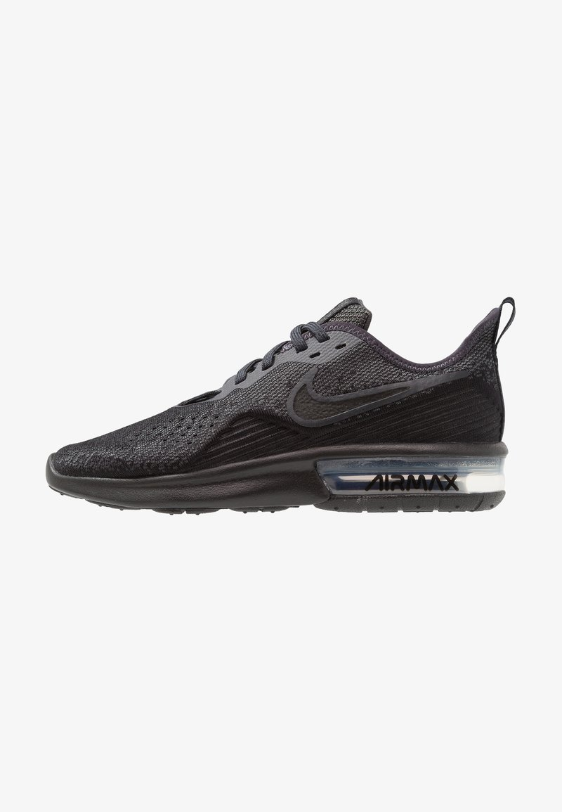 Nike Performance - AIR MAX SEQUENT 4 - Neutral running shoes - black/anthracite