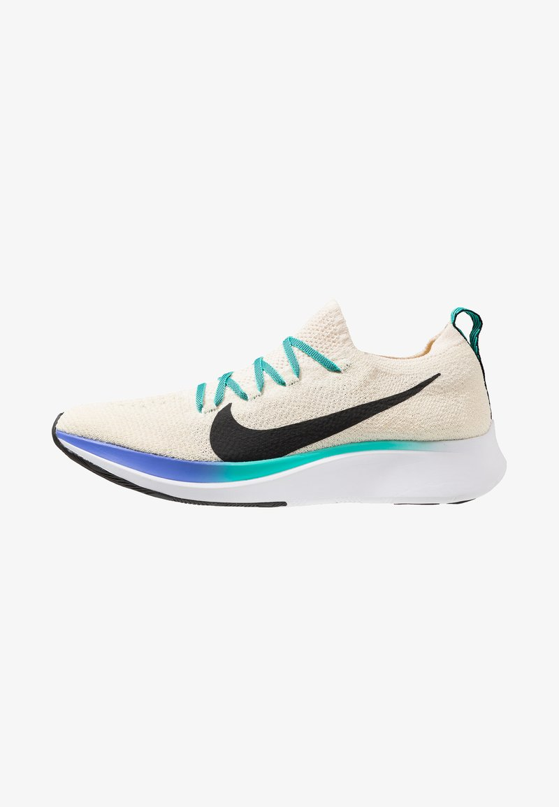 Nike Performance - ZOOM FLY FK - Juoksukenkä/neutraalit - light cream/black/hyper jade/sapphire/laser orange