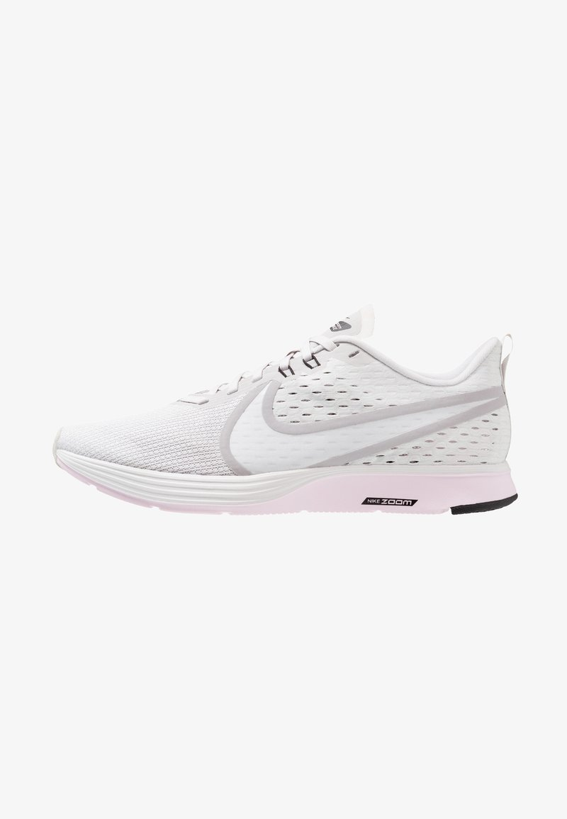 Nike Performance - ZOOM STRIKE 2 - Juoksukenkä/neutraalit - vast grey/platinum tint/pink foam/black/atmosphere grey/white