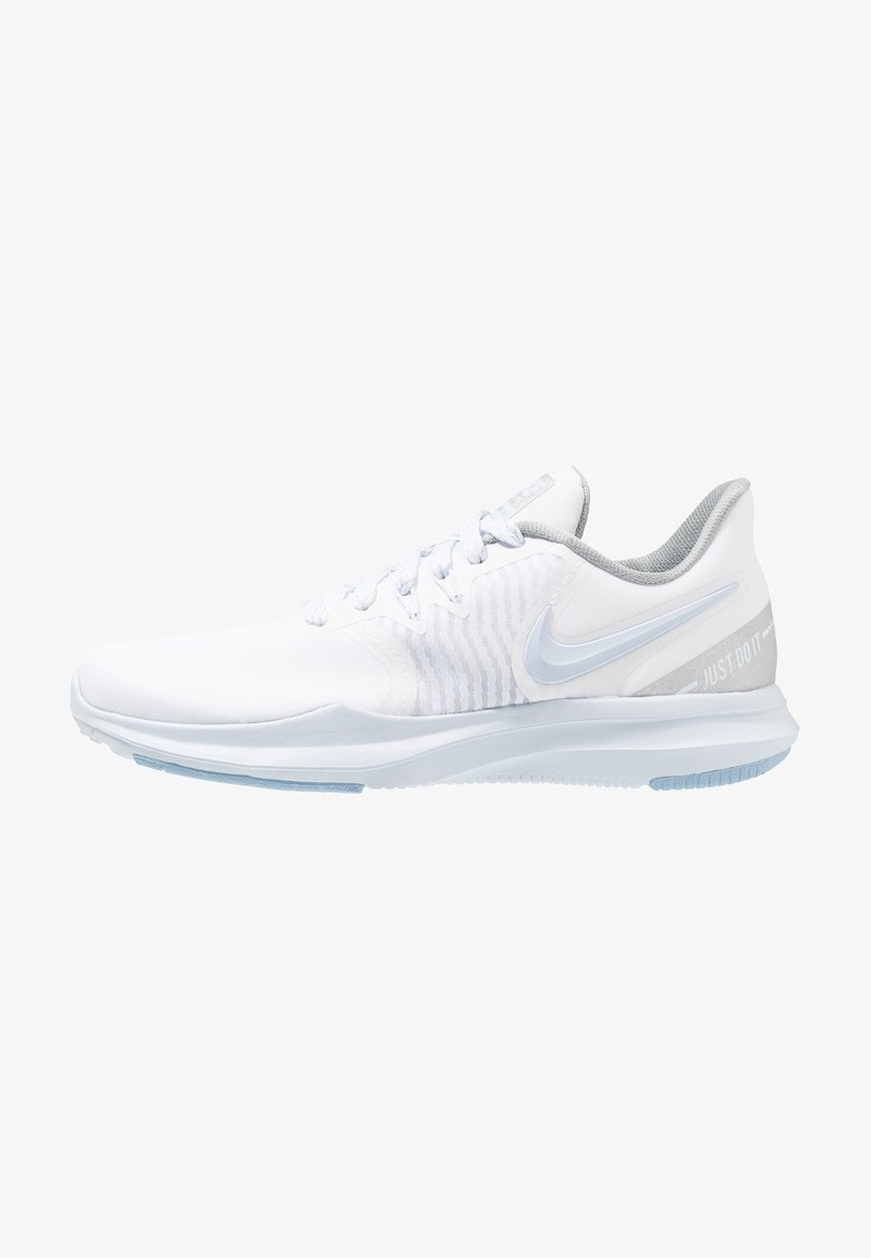 Nike Performance - IN-SEASON TR 8 - Obuwie treningowe - white/half blue